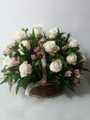 Basket Flower Designs delivery Puerto Rico