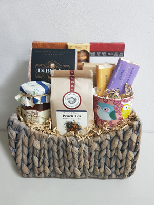 Cookies and Tea Gift Basket